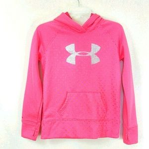 YLG UNDER ARMOUR GIRL'S GRAPHIC HOODIE szL